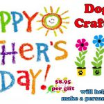 Mother's Day Craft for Dogs Daycare Boarding Puppy