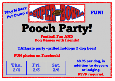 2016 Super Bowl Pooch Party