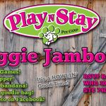 Dog daycare boarding fun party jamboree in the hills