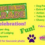 dog daycare boarding fun mardi paws party